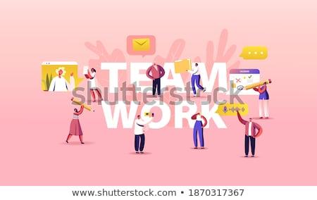 planejamento · programar · trabalhando · tarefas · otimização · vetor - foto stock © robuart