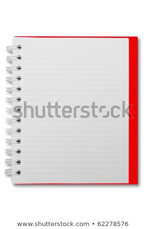 Mini blank page notebook stock photo © jomphong