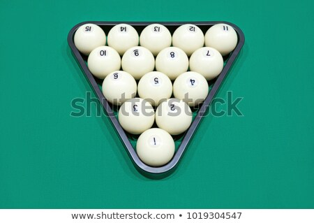 Balls for russian billiards Stock photo © nomadsoul1