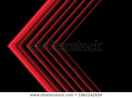 neon perspective directional arrow lights background design Stock photo © SArts