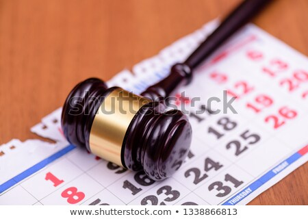 Judges At Trial Hearings Stock photo © AndreyPopov