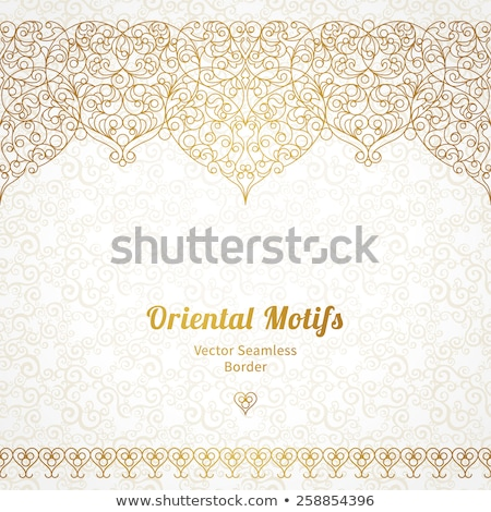Background with traditional ornament Stock photo © AbsentA