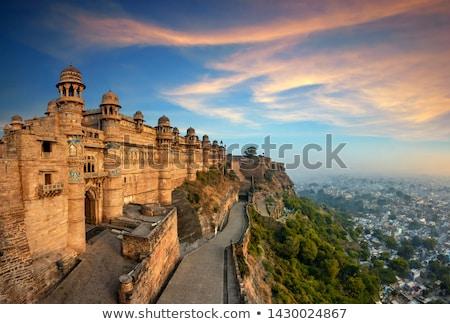 Gwalior fort Stock photo © dmitry_rukhlenko