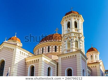 Chiesa santo salonicco Grecia costruzione città Foto d'archivio © borisb17
