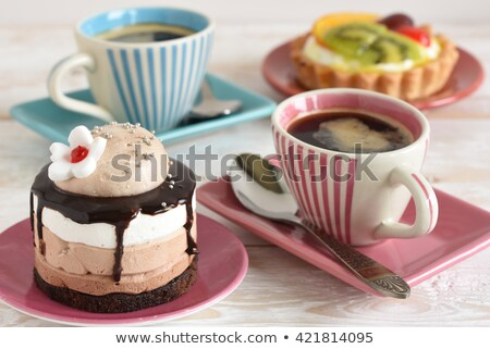 кофейный боб дым ингредиент кофе пить Сток-фото © Ansonstock
