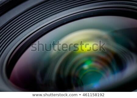 Photographic zoom lenses. Stock photo © angelsimon