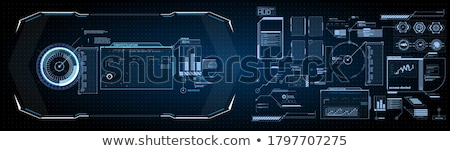 Stock photo: High-tech frame