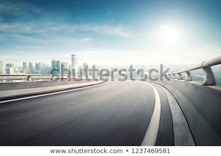 Autostrady strony kierowcy koła biznesmen młodych Zdjęcia stock © ssuaphoto