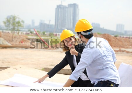 Engineers on a building site Stock photo © photography33