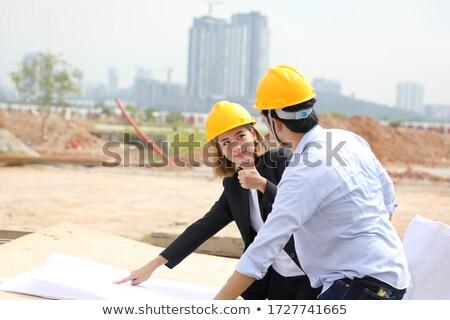 construçao · guindaste · construçao · negócio · cidade · rede - foto stock © photography33
