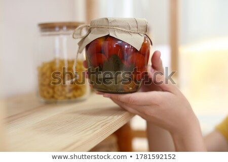 Preserving Jars Stock photo © HJpix