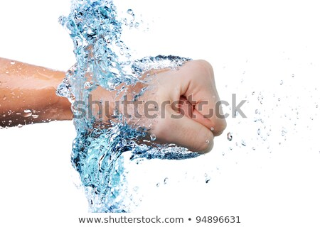fist through water Stock photo © kokimk