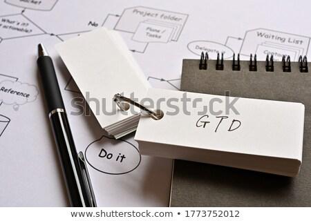 acrônimo · coisas · escrito · giz · lousa · fundo - foto stock © bbbar