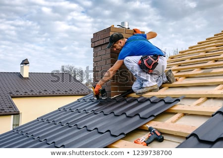 A roofer. Stock photo © photography33