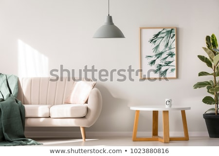 A green table lamp Stock photo © Traven