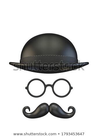 魔法 帽子 スタジオ 写真 空っぽ 黒 ストックフォト © prill