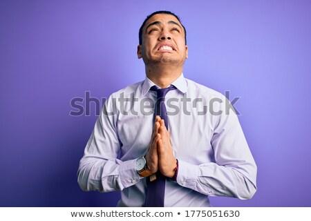 ストックフォト: ビジネスの方々 · 祈る · ビジネスマン · 祈っ · ヘルプ · 黒
