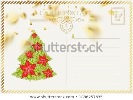 Yellow envelope backside isolated on white Stock photo © shutswis