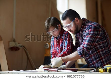 craftsman and his apprentice working together stock photo © photography33