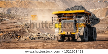 Mining Australia mine camion rock Foto d'archivio © THP