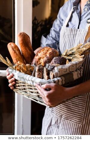 свежие · багеты · корзины · хлеб · пшеницы · диета - Сток-фото © photography33