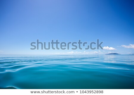 Concept ocean panorama with clear blue sky Stock photo © roboriginal