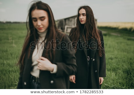 portrait of two young women stock photo © acidgrey
