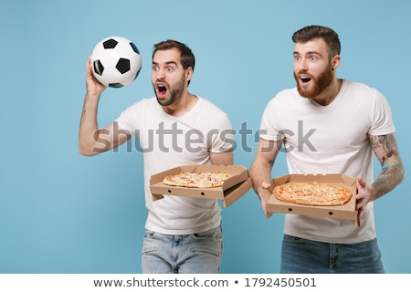 Two Italian football supporters Stock photo © photography33