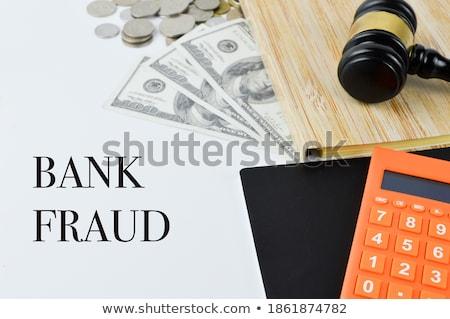 bancaire · geschreven · bankbiljetten · witte · business · geld - stockfoto © pterwort