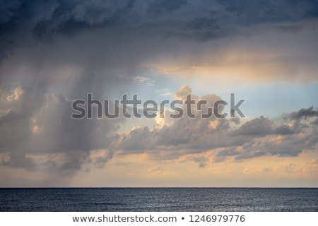 Rain over sea. Stock photo © Leonardi
