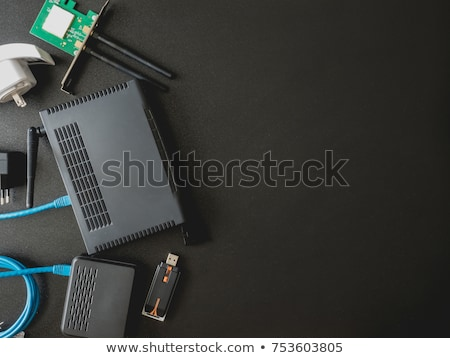 Ethernet network card concept of communication and internet Stock photo © johnkwan