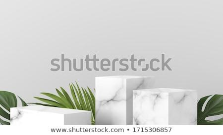 blocks of white marble Stock photo © rmarinello