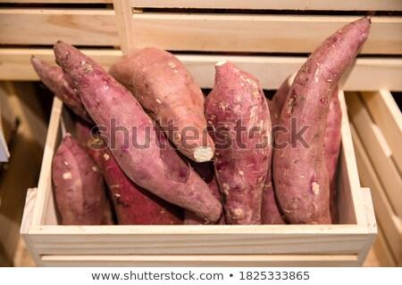 zoete · boeren · markt · voedsel - stockfoto © yuliang11