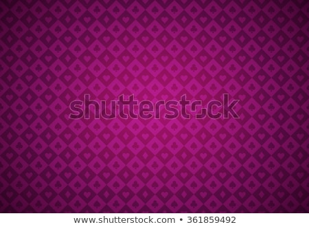 Stock photo: Vector diamond heart on purple background