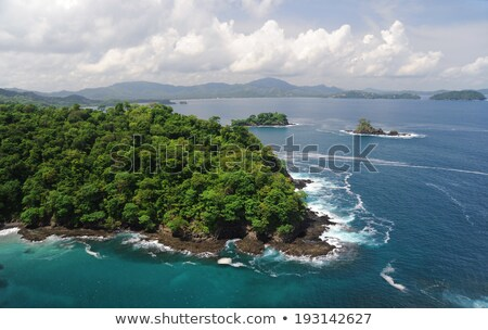 Costa Rica Beach from the Air Stock photo © oliverjw