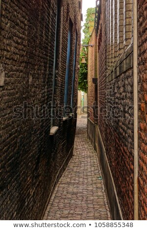 Narrow alley  Stock photo © olinkau