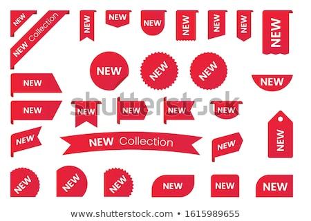 vermelho · por · cento · conjunto · de · vendas - foto stock © genestro