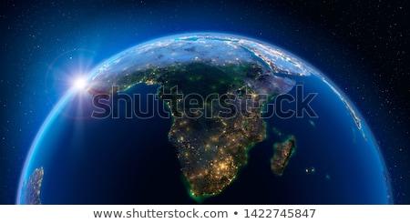 Földrész Afrika történelem térképek gomb szürke Stock fotó © Ustofre9