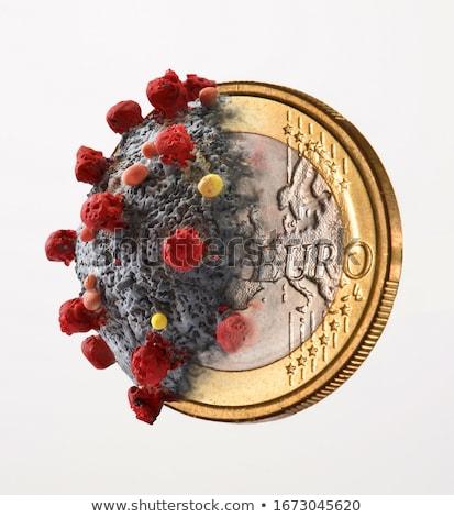 евро долг 3D оказанный иллюстрация Сток-фото © head-off