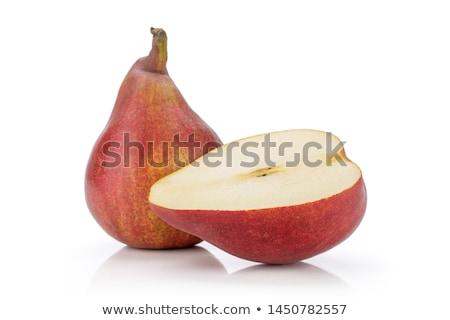Donkere peren boeren Stockfoto © bobkeenan