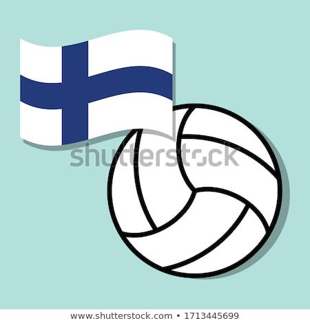 Finnish Volleyball Team Stock photo © bosphorus