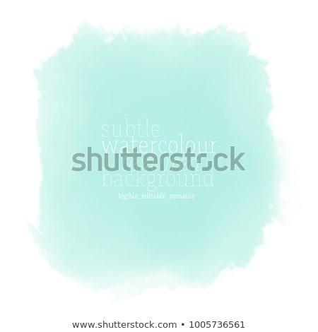 luz · azul · erosão · meio · parede · projeto - foto stock © karenr