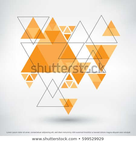 Web Advertising Concept on Triangle Background. Stock photo © tashatuvango