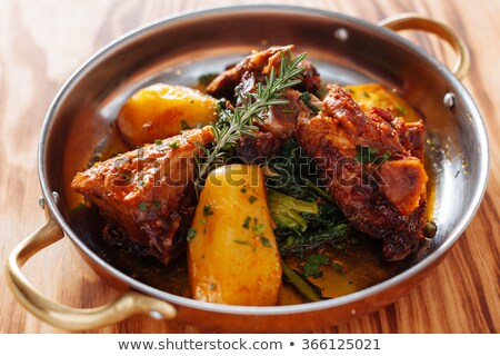 Traditional Portuguese Food on a Table Stock photo © aetb