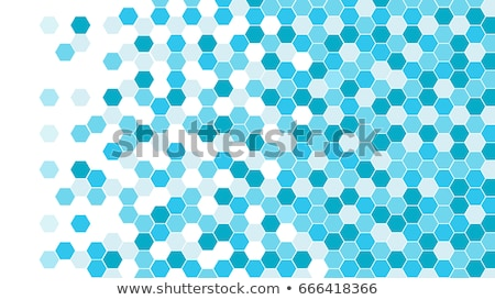 Digital hexagon pixel mosaic background Stock photo © sidmay