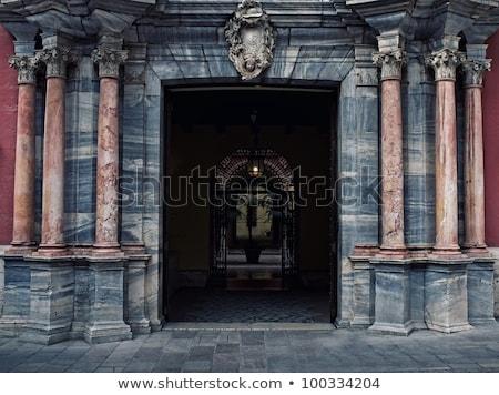 мрамор арки малага здании город двери Сток-фото © Nejron