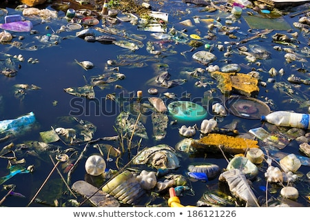 water pollution in river Stock photo © leungchopan