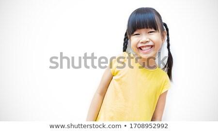 Asian young girl  stock photo © elwynn