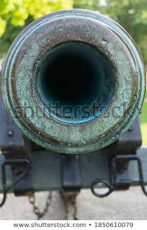 Old bronze cannon Stock photo © alessandro0770