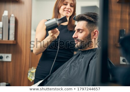 Female Friends Enjoying a day at a Hair Salon Together Stock photo © tobkatrina